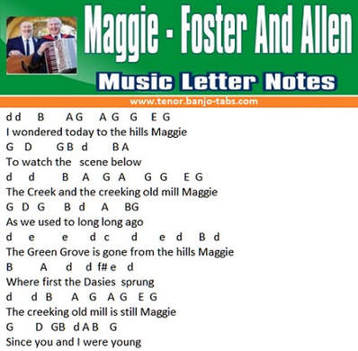 Maggie music notes
