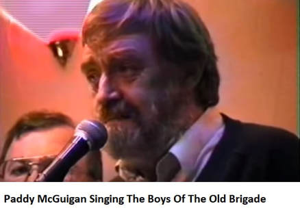 Paddy McGuigan sing The Boys Of The Old Brigade