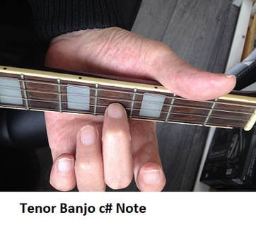 c# note on tenor banjo