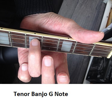 Low G note on tenor banjo